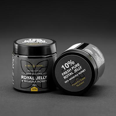 royal jelly 10 percent manuka honey blend