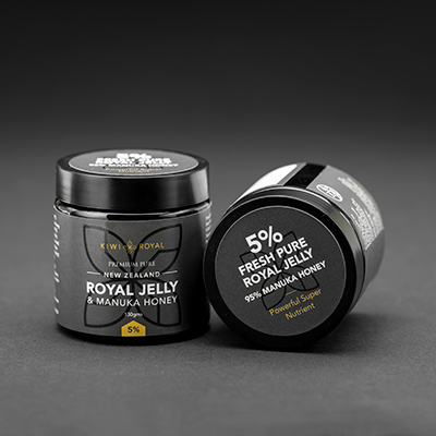 royal jelly 5 percent manuka honey blend