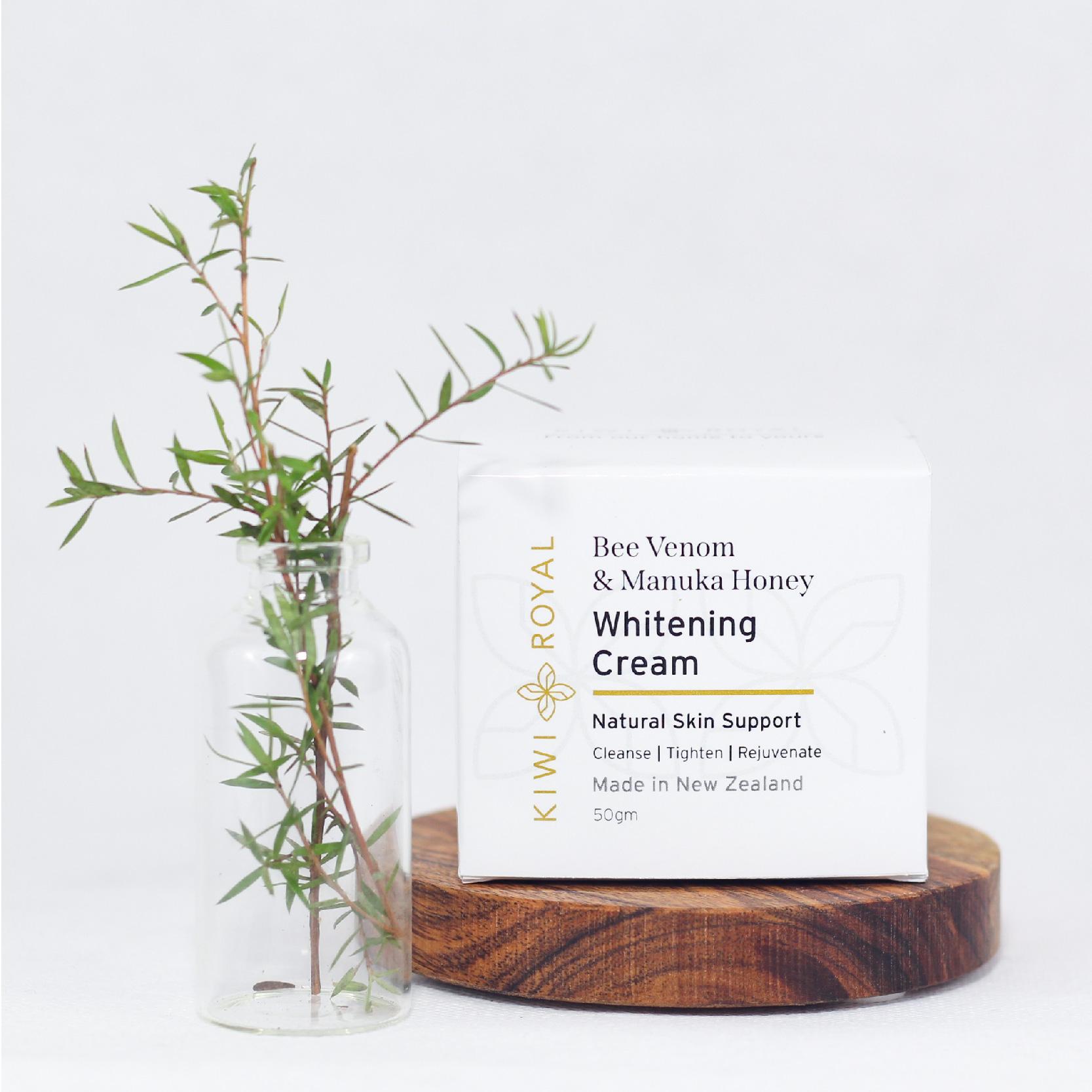 Bee Venom and Manuka Honey Whitening Cream