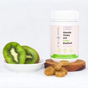 Manuka Honey and Green Kiwifruit